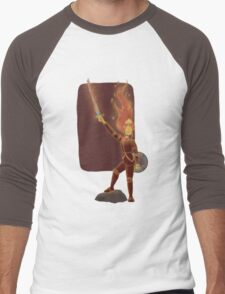 Phoebe the Flame King Men's Baseball ¾ T-Shirt