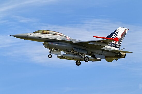 SABCA F-16BM Fighting Falcon ET-204 by Andrew Harker