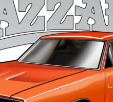 DUKES OF HAZZARD - DODGE GENERAL LEE Sticker