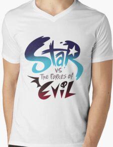 Star VS Evil Mens V-Neck T-Shirt