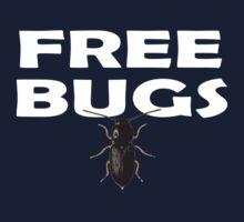 Free Hugs - Bugs T-Shirt Sticker One Piece - Long Sleeve