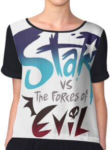 Star VS Evil Chiffon Top