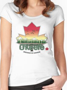 O'Keefe Brewery - Brewed in Canada Women's Fitted Scoop T-Shirt