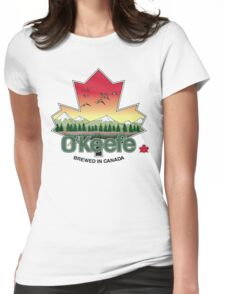 O'Keefe Brewery - Brewed in Canada Womens Fitted T-Shirt