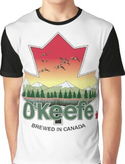 O'Keefe Brewery - Brewed in Canada Graphic T-Shirt