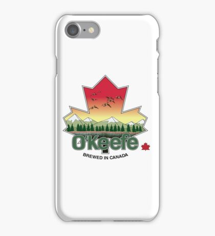 O'Keefe Brewery - Brewed in Canada iPhone Case/Skin