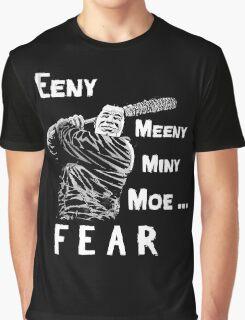 EENY MEENY MINY MOE NEGAN COMING Graphic T-Shirt