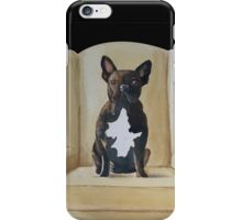 Jimmy French bulldog with attitude iPhone Case/Skin