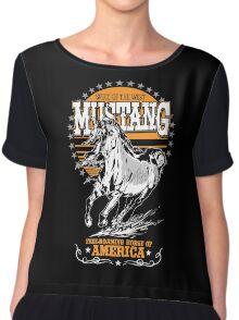 Mustang Chiffon Top