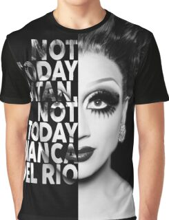 Bianca Del Rio Text Portrait Graphic T-Shirt