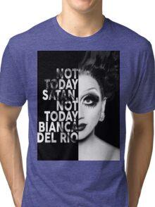 Bianca Del Rio Text Portrait Tri-blend T-Shirt