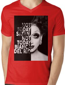 Bianca Del Rio Text Portrait Mens V-Neck T-Shirt
