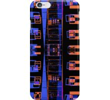 City apartment building at night iPhone Case/Skin