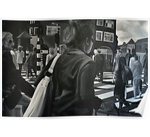 Amsterdam wibe, 2012, 120-80cm, oil on canvas Poster