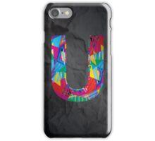 Fun Letter - U iPhone Case/Skin