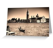 A perfect day in Venice Greeting Card