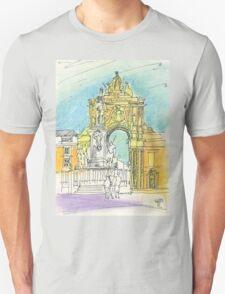 Terreiro do Paço. Unisex T-Shirt