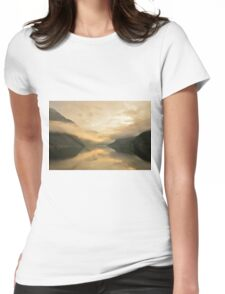 Fjord Mist Womens Fitted T-Shirt