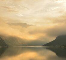 Fjord Mist Sticker