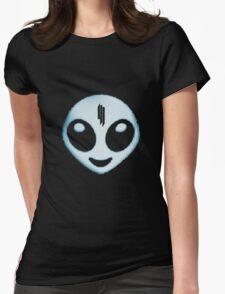 SKRILLEX RECESS ALIEN Womens Fitted T-Shirt