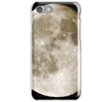 cratered moon iPhone Case/Skin