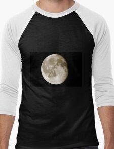 cratered moon Men's Baseball ¾ T-Shirt