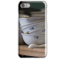 Abandoned Science Lab Porcelain Testing Equipment  iPhone Case/Skin