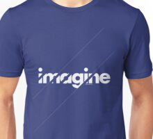 Imagine under stripes /// white version Unisex T-Shirt
