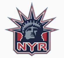 NEY YORK RANGERS HOCKEY Baby Tee