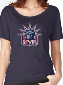 NEY YORK RANGERS HOCKEY Women's Relaxed Fit T-Shirt