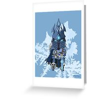 Lich King Greeting Card