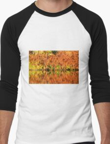 Reflections of the Fall Men's Baseball ¾ T-Shirt