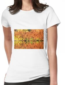 Reflections of the Fall Womens Fitted T-Shirt