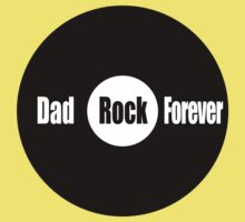 Dad Rock Forever One Piece - Short Sleeve