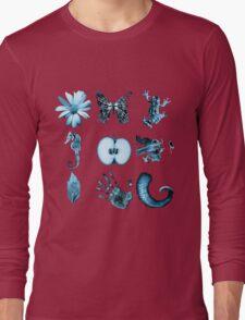 Fringe Glyphs all nine symbols Long Sleeve T-Shirt