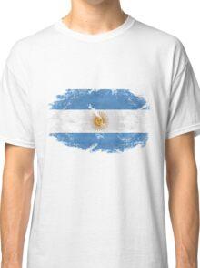 Argentina Vintage Flag Classic T-Shirt
