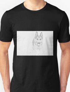 Alsatian pencil skecth...  T-Shirt