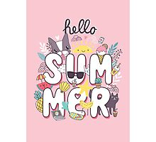 Hello Summer Photographic Print
