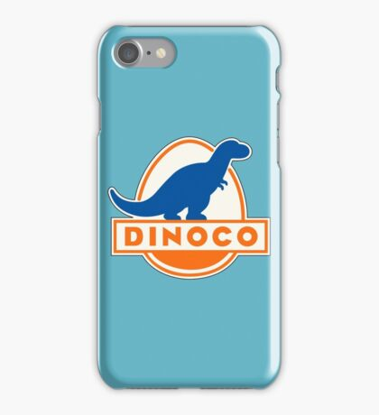 DINOCO TOY STORY CARS FUEL COMPANY iPhone Case/Skin