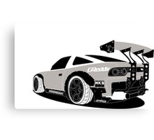 NISSAN 240sx S13 JDM DRIFT DESIGN Canvas Print