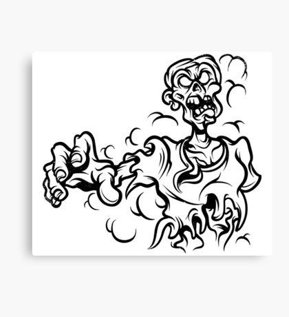 Undead: Scrub Canvas Print