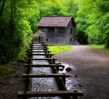 Spring at Mingus Mill by Kathy Weaver