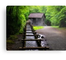 Spring at Mingus Mill Metal Print