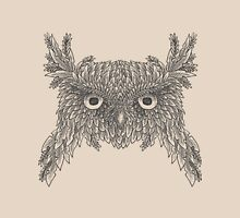 Owl made up of leaves Unisex T-Shirt
