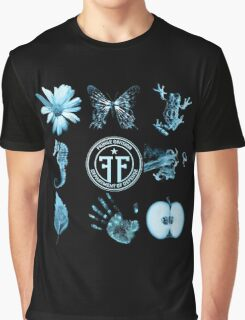 Fringe Glyphs with Division symbol Graphic T-Shirt