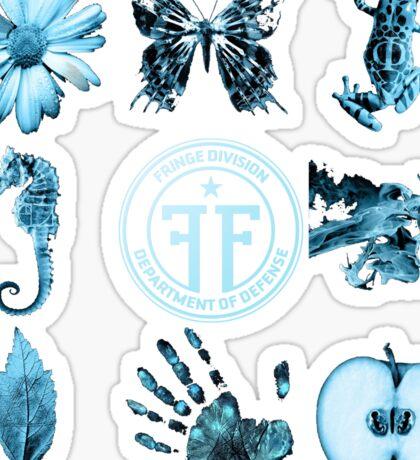 Fringe Glyphs with Division symbol Sticker