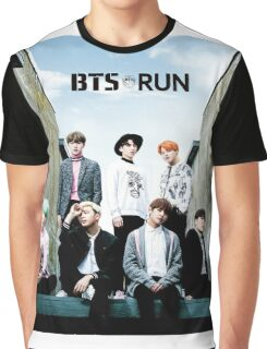 BTS Run Graphic T-Shirt