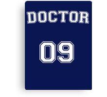 Doctor # 09 Canvas Print