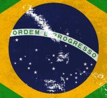 Brazil Vintage Flag Sticker