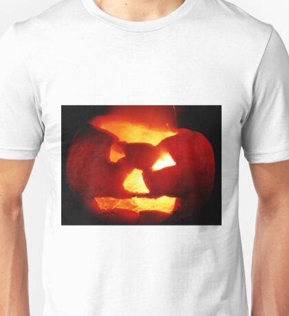 Happy Halloween Pumpkin 4: Sparks Fly Unisex T-Shirt